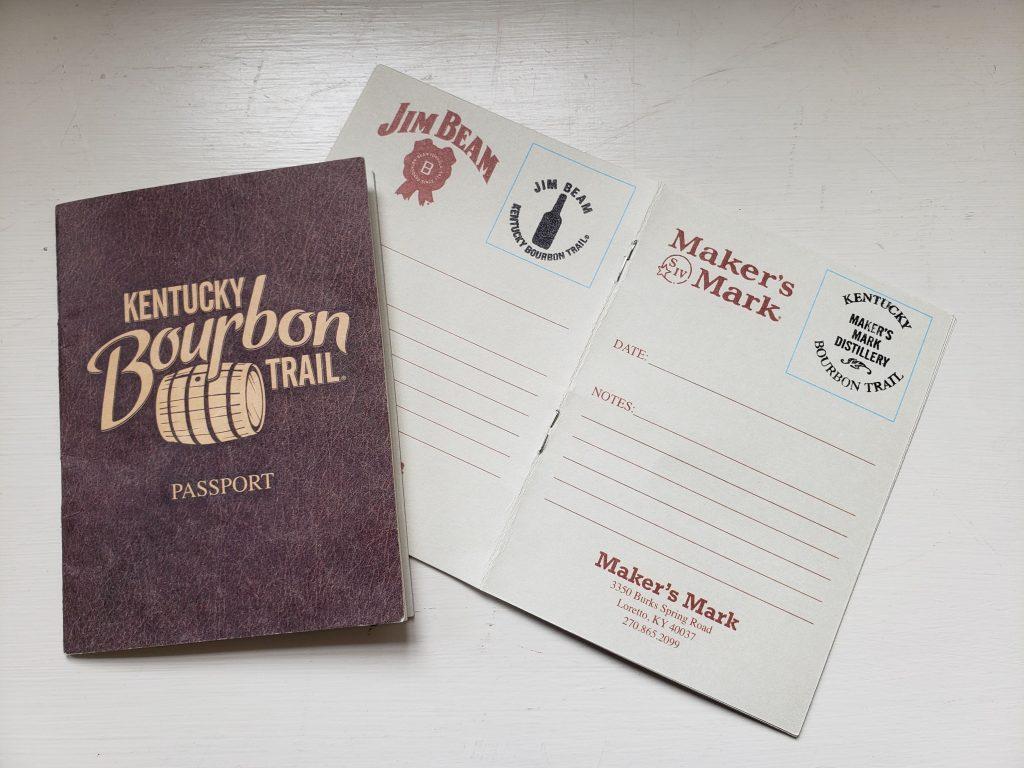 Bourbon Trail Passports