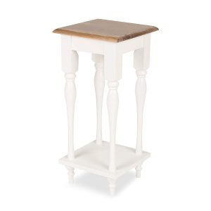Wood Top Plant Stand from Amazon