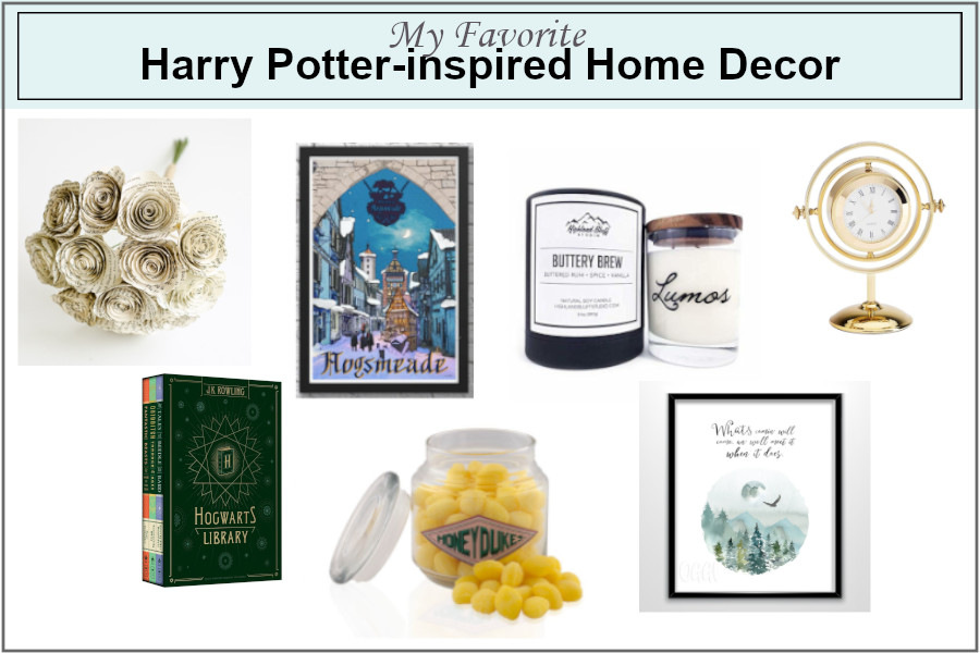My favorite Harry Potter-inspired home decor