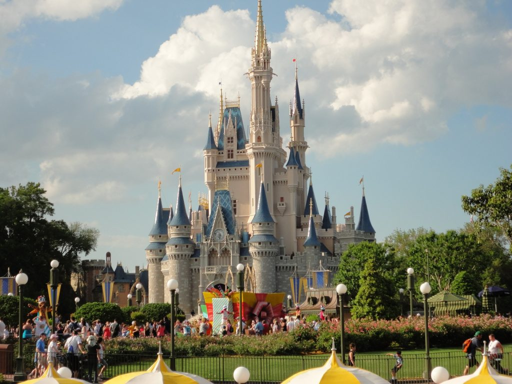 A photo of Cinderella's Castle in Magic Kingdom
