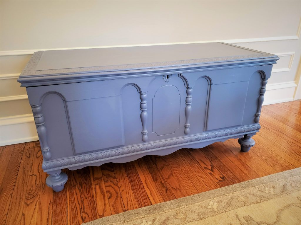 The cedar chest 'after' photo