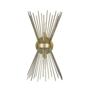 Rivet Mid-Century Modern Starburst Wall Sconce Lamp from Amazon