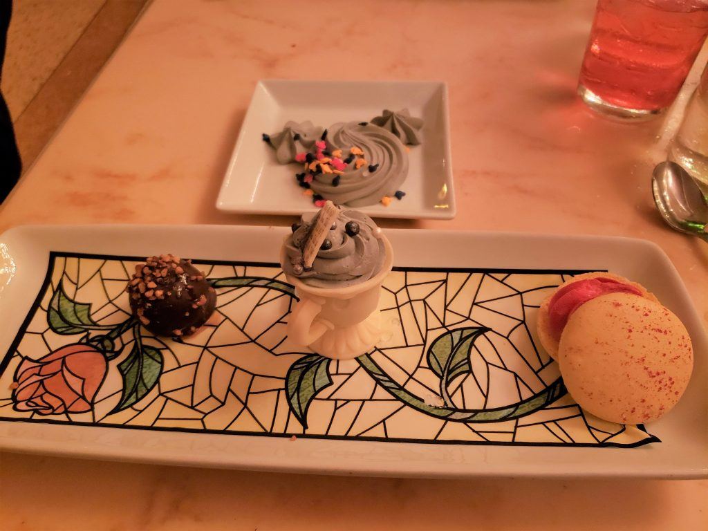 Dessert at the Be Our Guest Restaurant