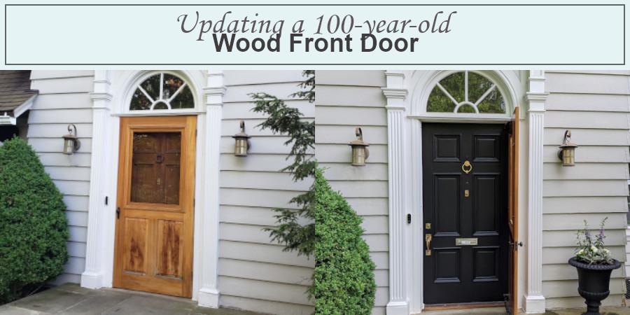updating our front door