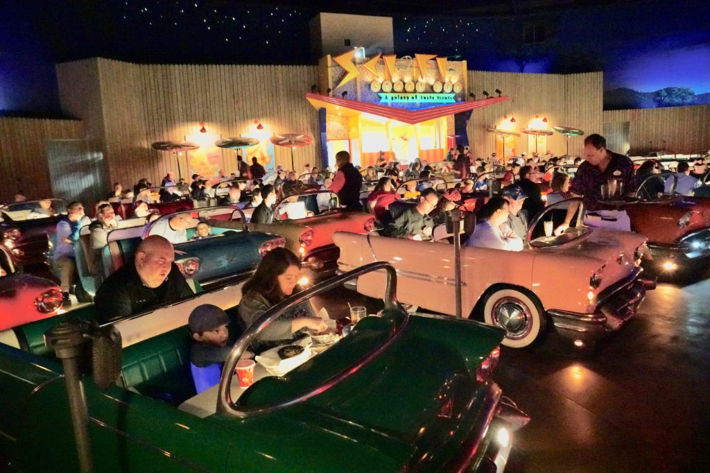 Sci-Fi Dine-In Theater Restaurant (photo courtesy of magicguides.com)